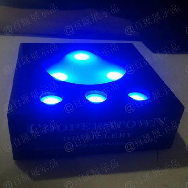 藍光LED燈亞加力膠盒