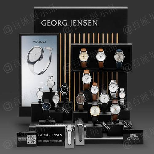 手錶專櫃亞加力展示台