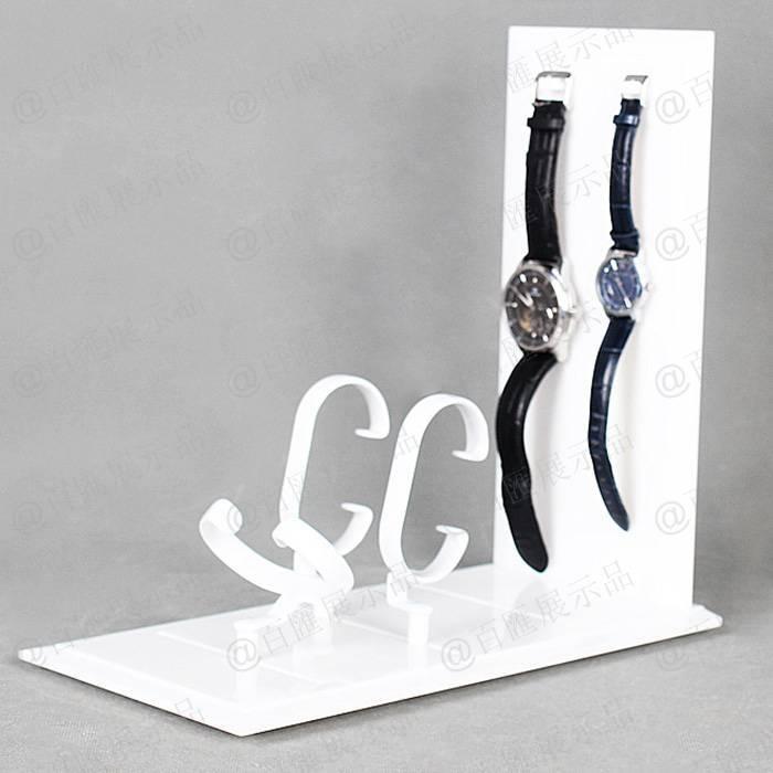 懸掛式手腕錶展示架-側面