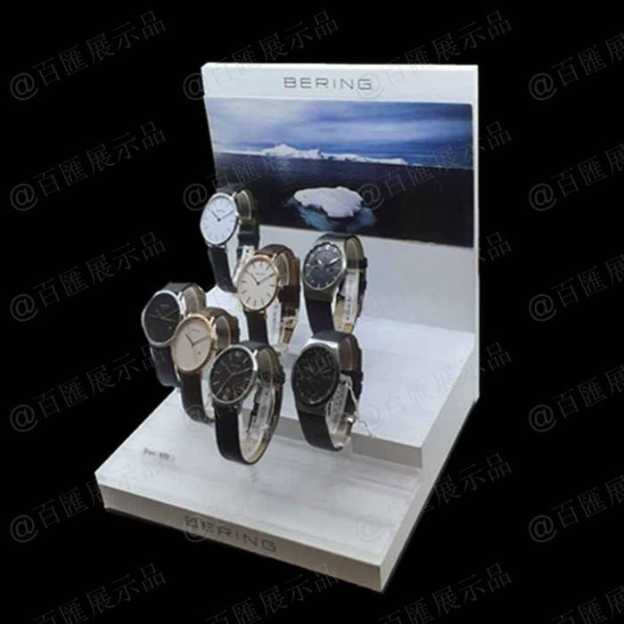 手錶促銷亞加力膠架