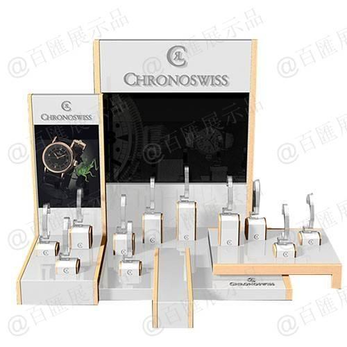 高檔手錶零售亞加力展示架