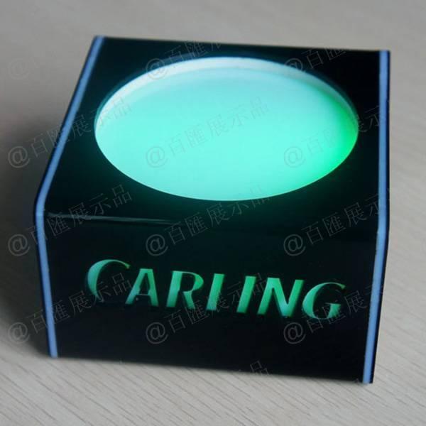 附帶開關式發光展示座-綠光