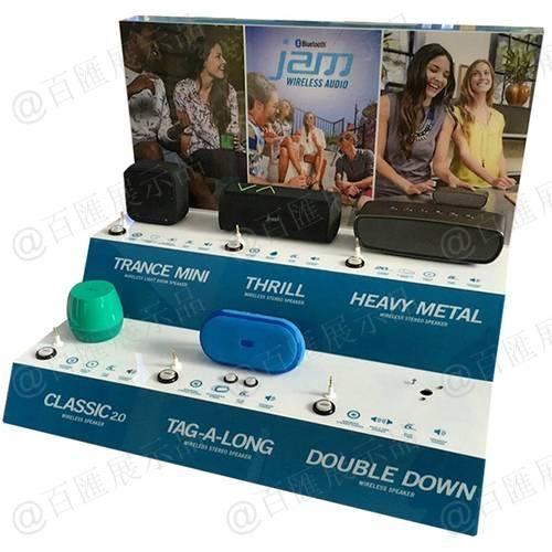 數碼店攜便式藍牙音響桌面展示架