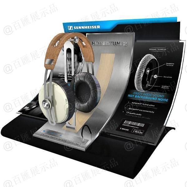 森海塞爾 sennheiser 耳機展示架