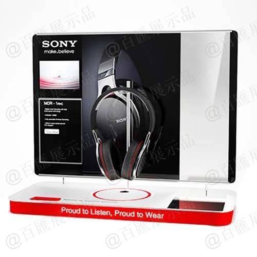 索尼品牌耳機展示架