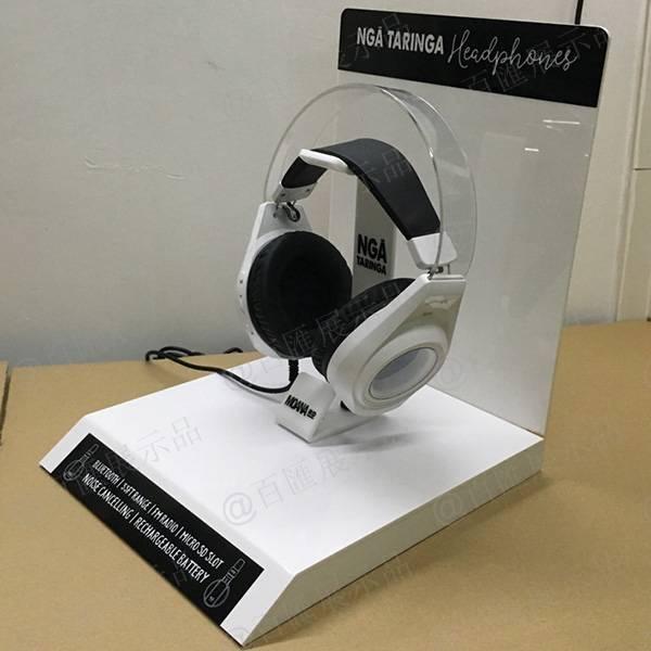 耳機演示L型亞加力膠架
