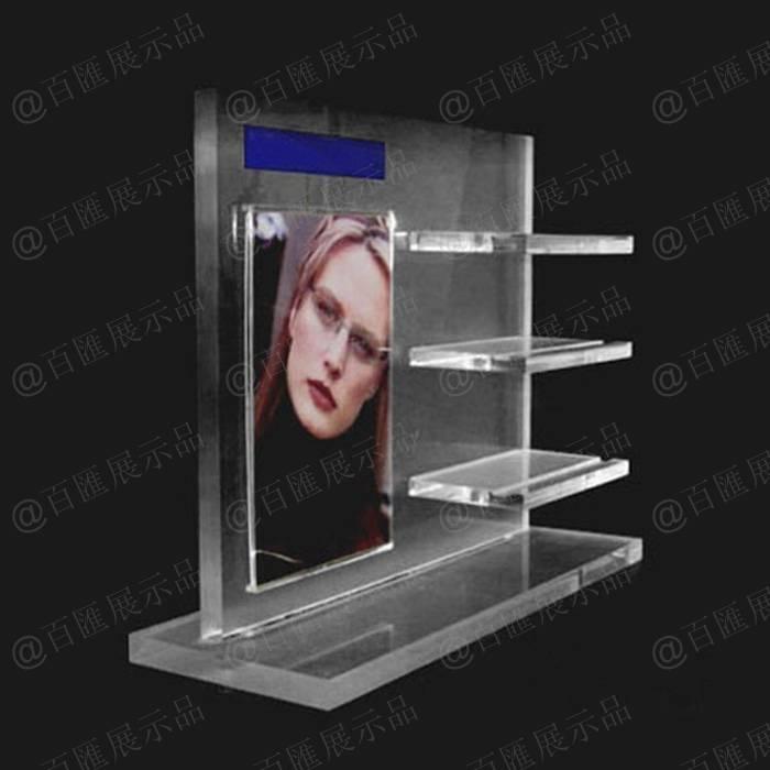 通用可更換廣告紙眼鏡展示架
