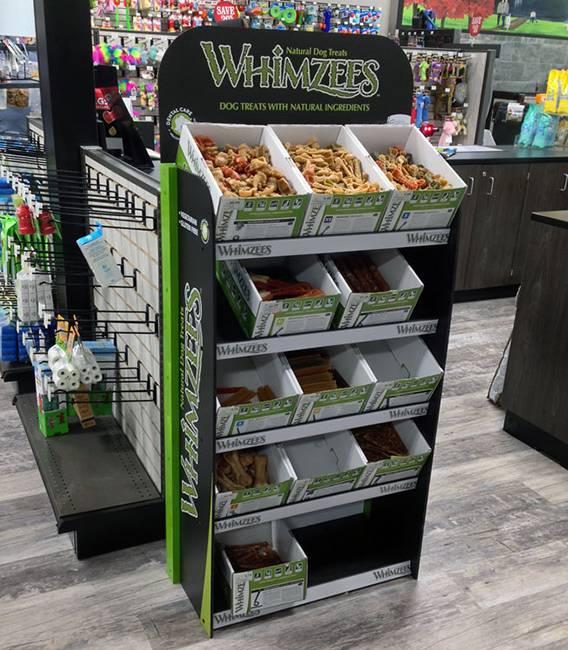 超市貨物陳列展示木架
