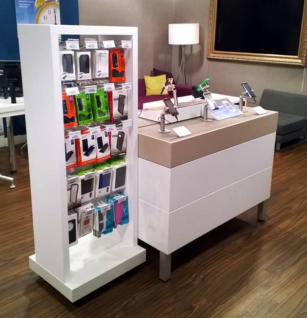 電子產品大型展銷木櫃