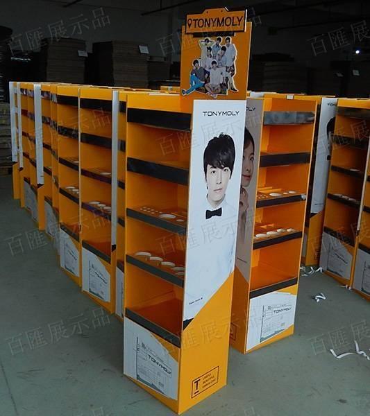 TonyMoly 韓國化妝品陳列架-右側大貨圖