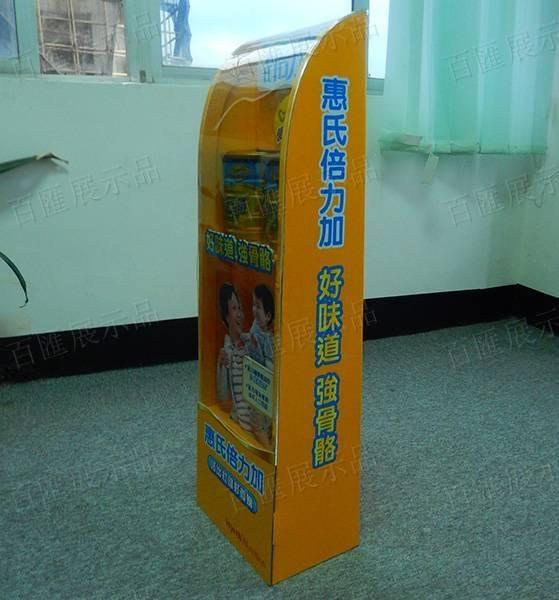 惠氏奶粉展示架-藥房款-右側