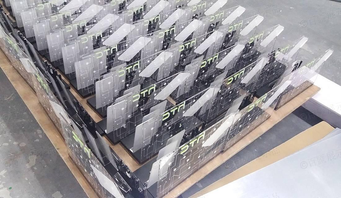 HTC 宏達電 手機桌面亞加力陳列膠座