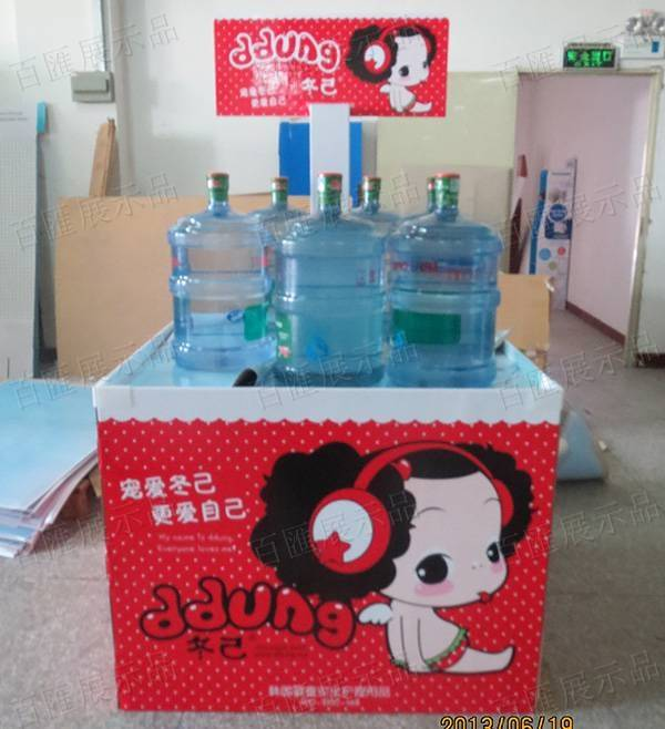 童嬰產品方形大型陳列架