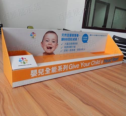 嬰兒營養品座台架-萬寧-右側