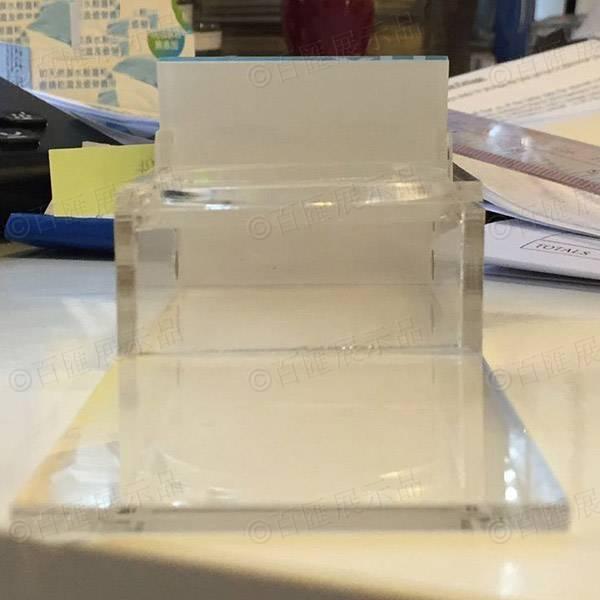 磁石L形膠牌-背面