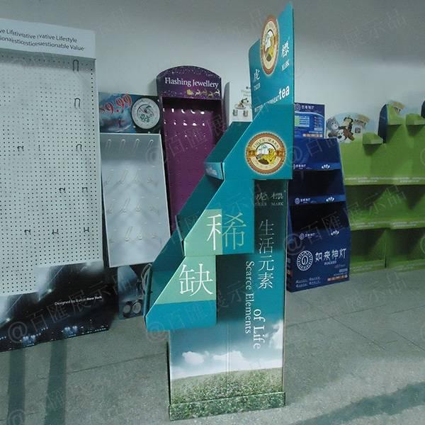 虎標茶葉紙展示架-側面