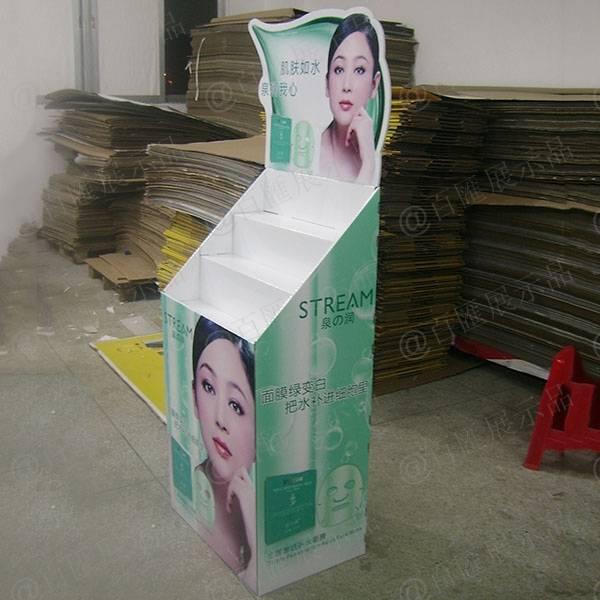 泉之潤面膜紙品展示架-右側