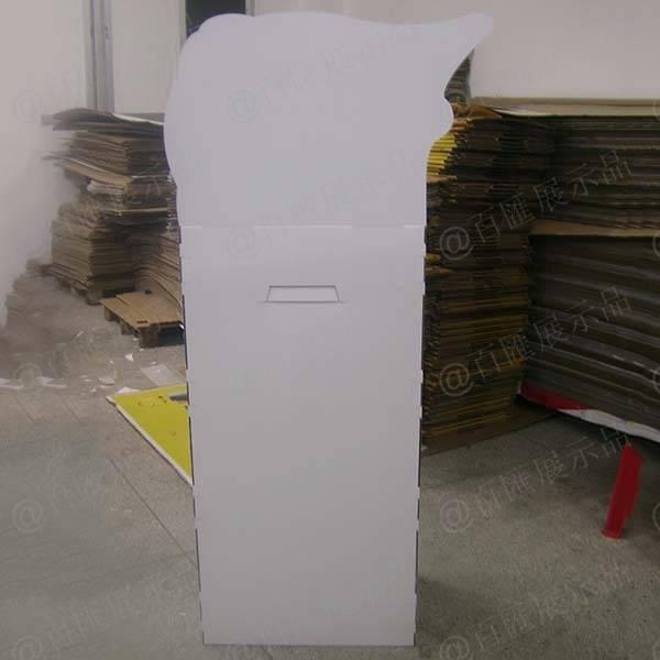 泉之潤面膜紙品展示架-背面