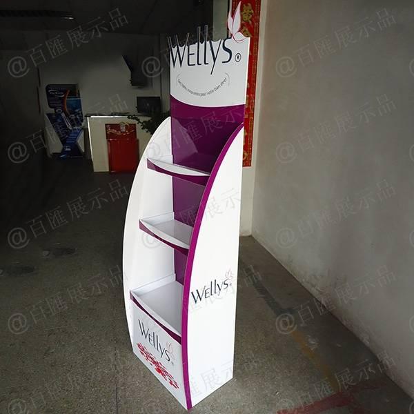 Wellys 健康產品紙展示架-右側