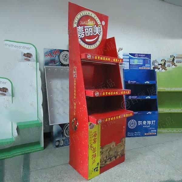 特產食品POP商品陳列架-左側