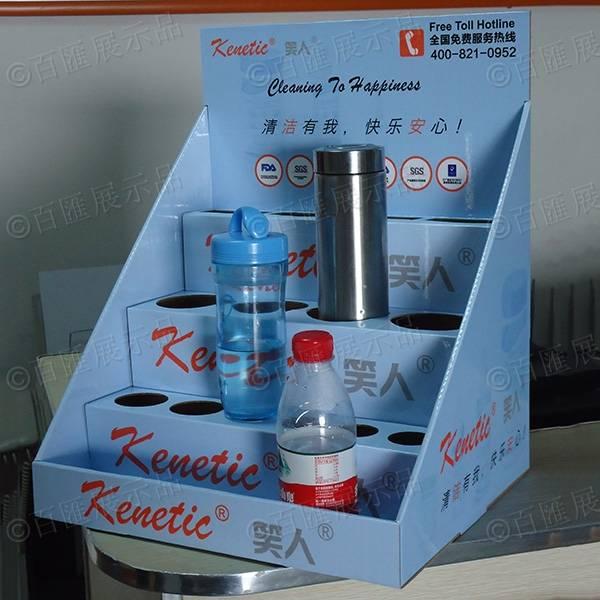 笑人清潔用品分層式PDQ紙展示盒-右側