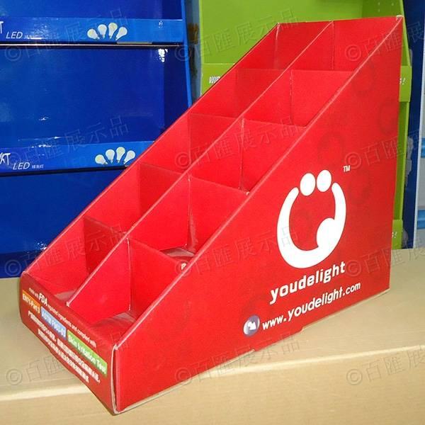 禮品卡片梯級式桌面展示盒-右側