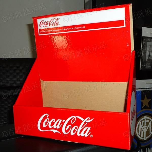 可口可樂包裝PDQ紙展示盒-正面