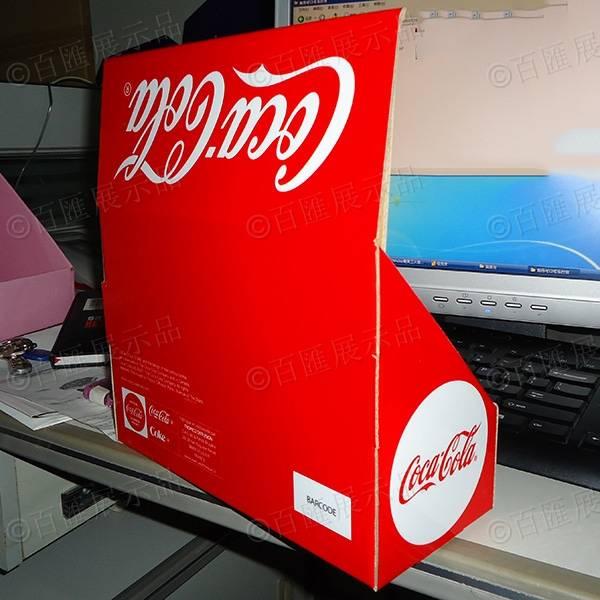 可口可樂包裝PDQ紙展示盒-背面