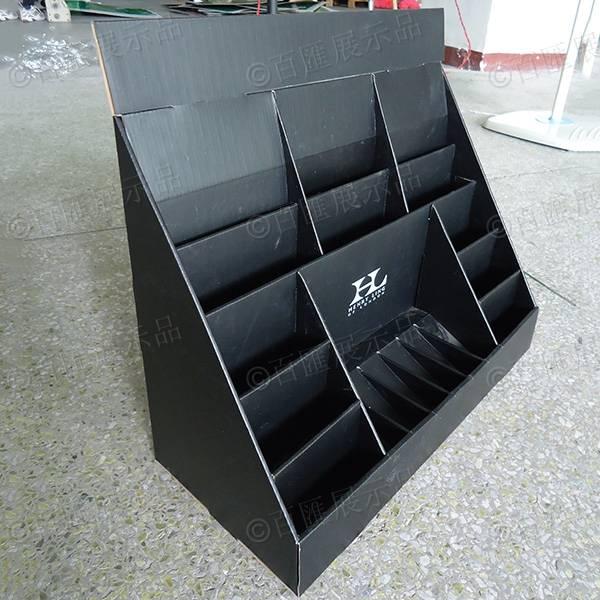 賀卡片黑色紙展示盒-左側