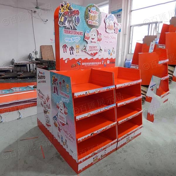 Kinder 健達巧克力 POSM 紙展示架