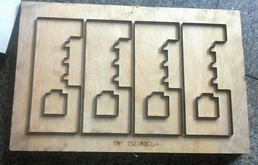 紙展示架刀模