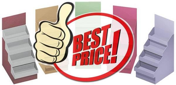 訂造紙展示架價格多少為合理?