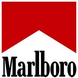Marlboro 萬寶路香菸LED燈發光亞加力膠架