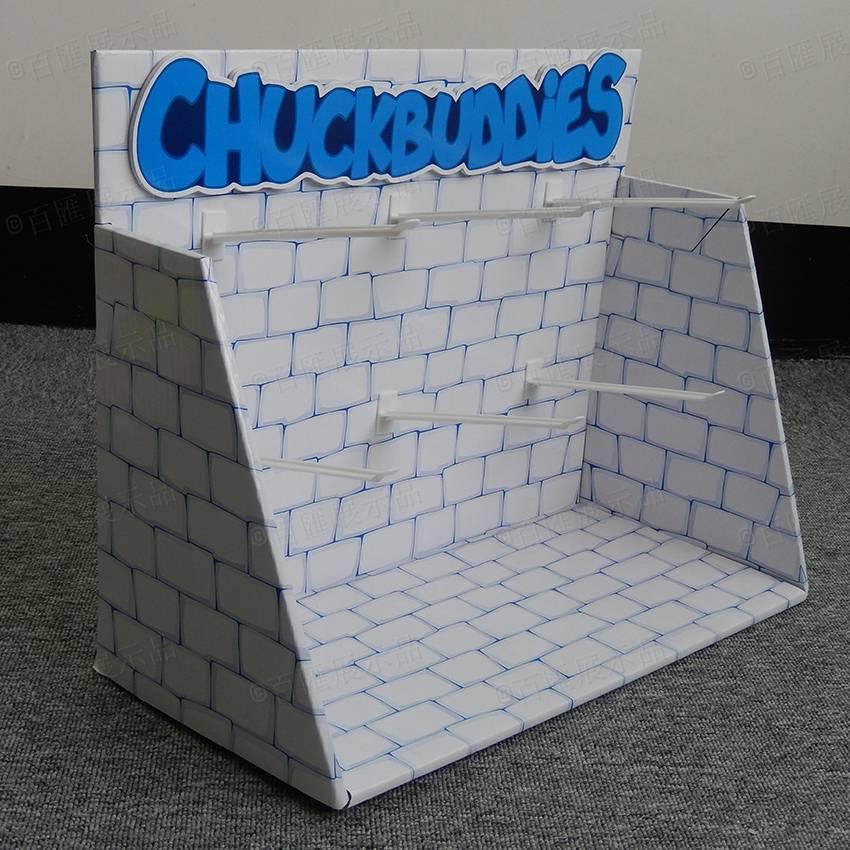 掛鉤紙質展示台