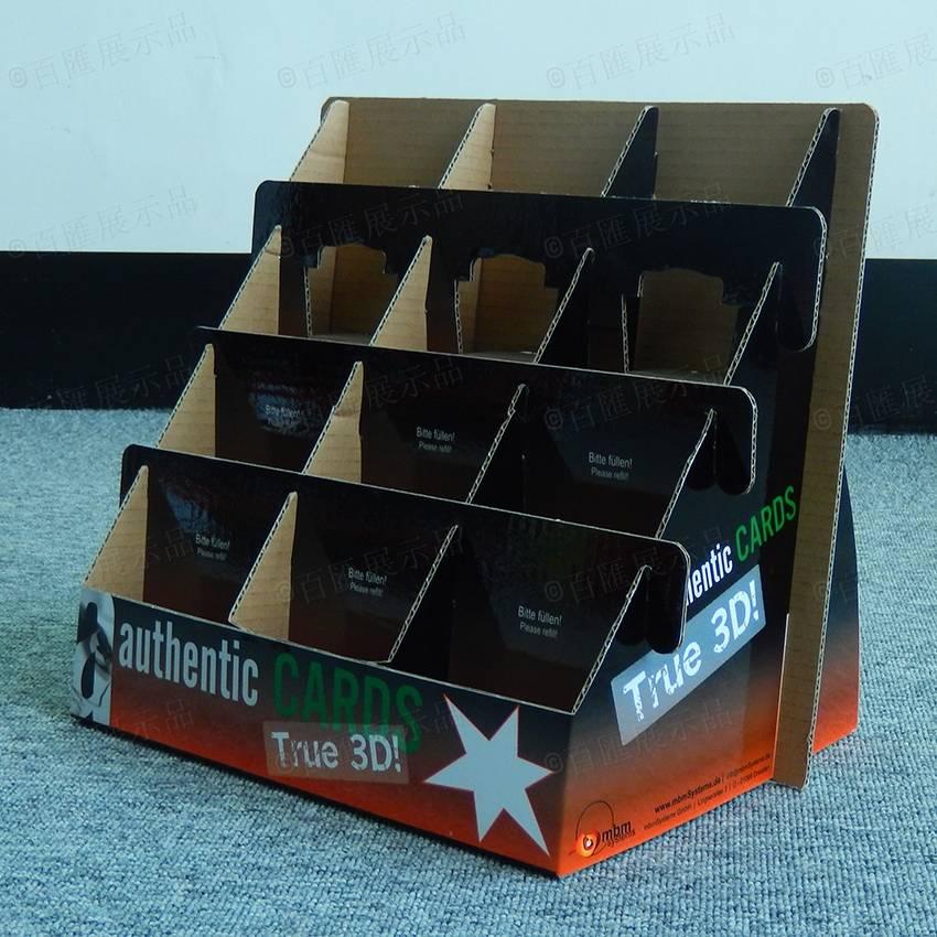 桌面分層紙展示盒