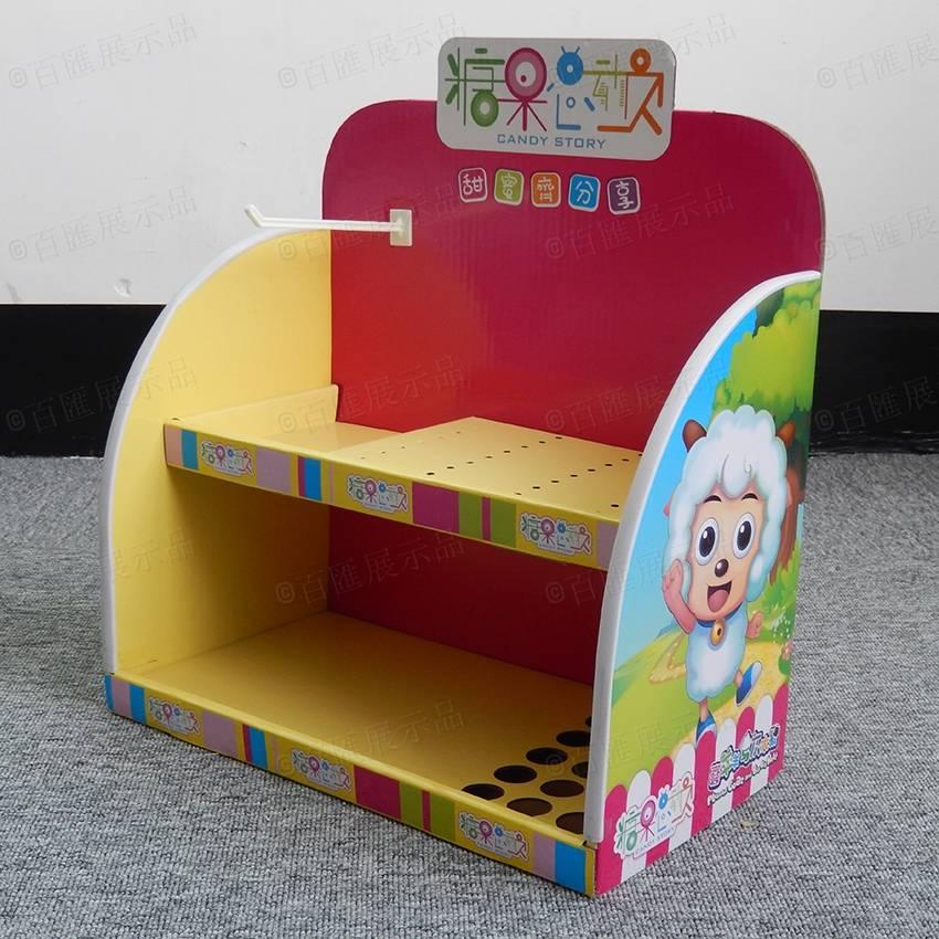 櫃台糖果陳列紙架