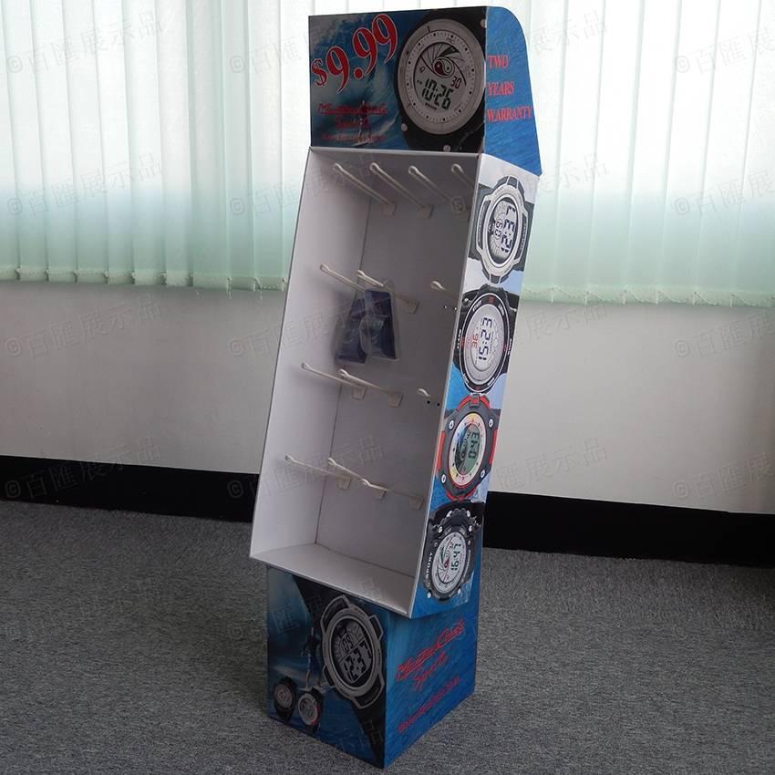 手錶陳列掛鉤紙質展示架