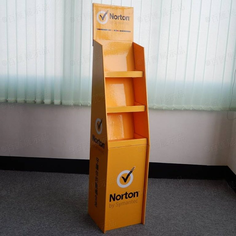 諾頓 Norton 產品促銷展示架