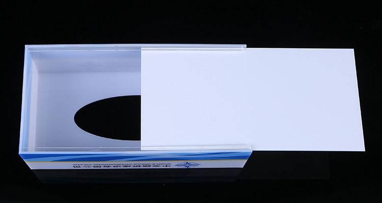 高檔亞加力紙巾盒
