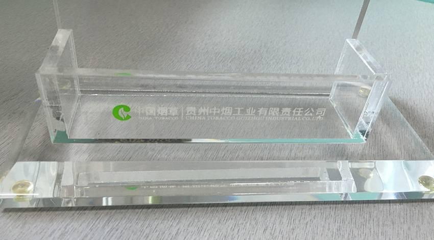透明亞加力資料架