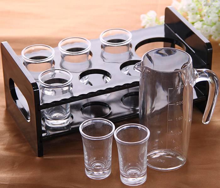 亞加力酒杯產品架