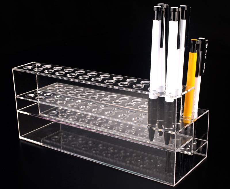 48-Pen-2-Tier-Clear-Acrylic-Display-Stand-Marketing-Holders-XH0131-3
