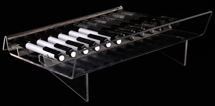 M型透明亞加力筆展示架