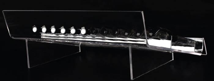 Acrylic-12-Slots-Pen-Premium-U-Shaped-Display-Stand-XH60-5