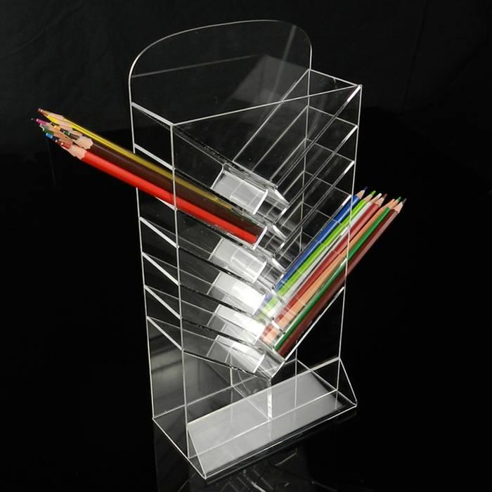 兩側插入產品亞加力膠展示架