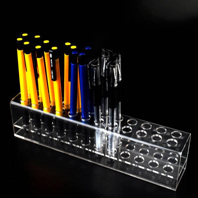 長方形24孔透明亞加力膠架
