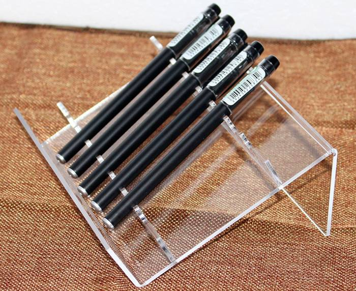 Clear-L-Shaped-Acrylic-Pen-Stand-for-8-Pens-XH59-6