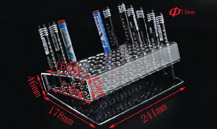 Counter-Top-50-Slot-Pen-Sharpie-Pencil-Paint-Brush-Holder-XH61-6