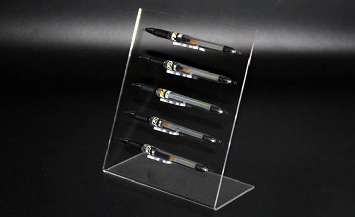 L-Shaped-5-Slots-Premium-Clear-Acrylic-Pen-For-Home-Office-Or-Store-Usage-XH64-3