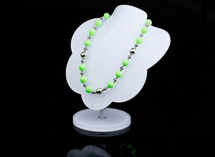 White-Acrylic-Jewelry-Display-Stands-Necklace-Holder-for-Shows-Exhibition-Store-Fair-XH0054-2